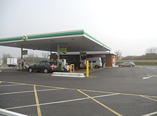BP/M&S, Ely & Littleport, Cambridgeshire