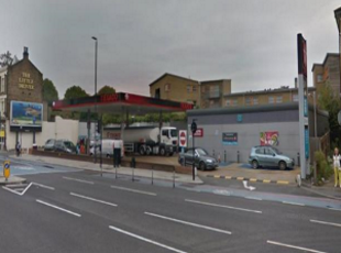 Bow Road Service Station, London