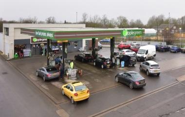 Applegreen Slade End Service Station, Bridge Street, Chatteris, Cambridgeshire, PE16 6QZ