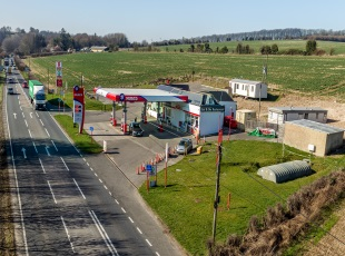 Chicklade Services, A303, Wiltshire