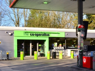 Co-Op Forecourt & C-Store, Cramlington, Tyne & Wear