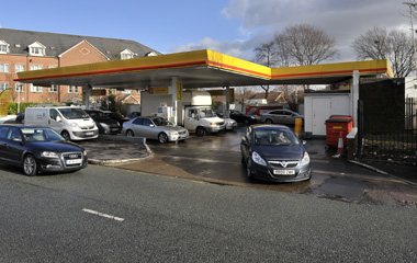 Shell Petrol Station, A34 Kingsway, Manchester, M19 1RD