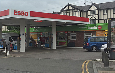 Handbridge Service Station, Queens Park Road, Handbridge, Chester, Cheshire, CH4