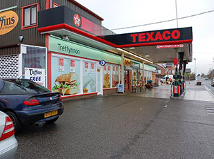 11 Supermarkets with Petrol Filling Stations, Welsh Borders