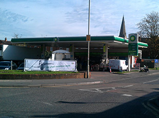 Central England Co-Operative Filling Station, Market Harborough, Leicestershire