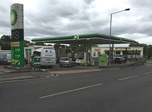 BP/M&S Petrol Filling Station, Billericay, Essex