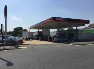 Co-Op Petrol Filling Station & C-Store, Hillingdon, Middlesex