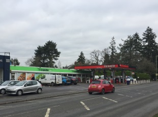 Co-Op Petrol Filling Station, Romsey