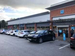 Co-Op C-Store & Subway outlet, Crewe, Cheshire