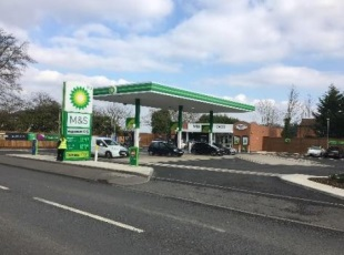 Three BP Petrol Filling Stations: Brentwood, Pevensey & Lewes