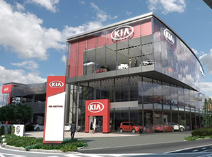 West London Kia, Brentford, London