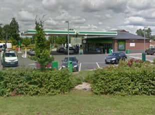 BP/M&S Petrol Filling Station, Littleport, Cambridgeshire