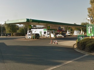 BP Petrol Filling Station, Martlesham Heath, Ipswich