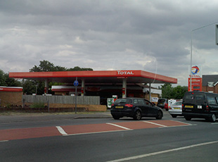 Shell Petrol Filling Station, Slough, Berkshire