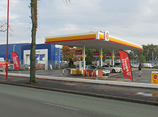 Shell Petrol Filling Station, Tyburn Road, Birmingham