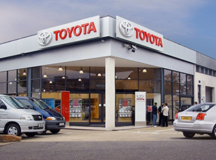 Toyota Dealership, Edgware Road, London