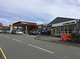 Vehicle Dealership & Petrol Filling Station, Dolgellau, North Wales