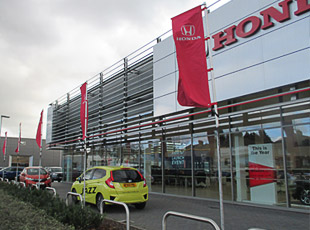 Colliers Honda, Land Rover & Mazda Dealerships, Birmingham