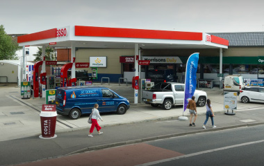 Esso/Morrisons Forecourt & Convenience Store, Portsmouth Road, Cosham, Hampshire, PO6 2SJ