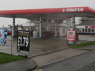 Murco Petrol Station, Hythe, Kent
