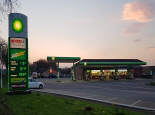 Roundswell Service Station, A39, Barnstaple