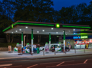 Two Petrol Filling Stations: Northwich and Nottingham