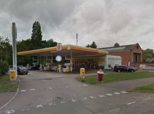 London Road Service Station, Leicester