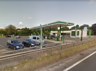 The Buck Service Station, Andover