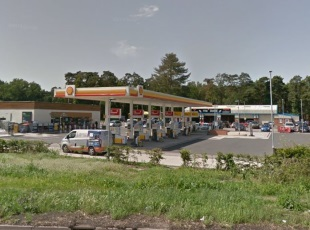Shell Petrol Filling Station, Barton Mills, Mildenhall