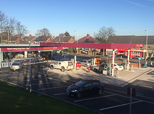 Sainsbury's Petrol Filling Station, Bebington, Wirral