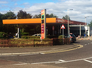 Sainsbury's Petrol Filling Station, Scotland