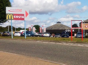 Road Chef / Shell Service Area, A34, Sutton Scotney, Hampshire